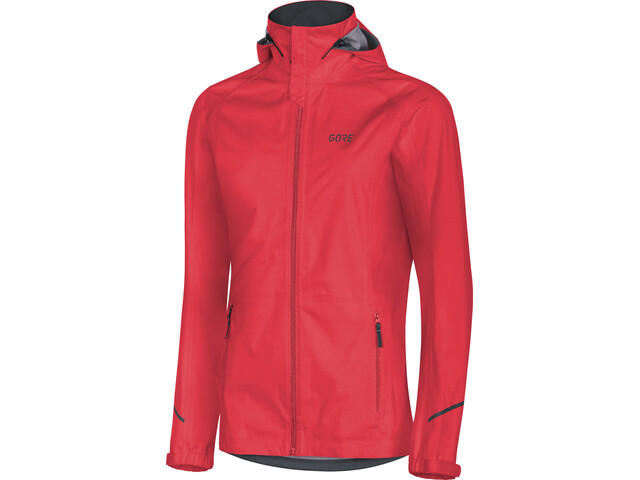 GORE WEAR R3 Gore-Tex Active Kurtka z kapturem Kobiety, lumi orange